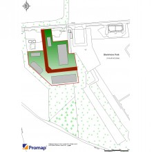 For Sale Employment Development Land 4.24 acres (1.716 hectares) of land adjoining Blackmore Business Park, Malvern, Worcs WR8 0EF - Image 1